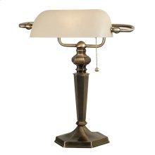 Mackinley - Banker Lamp