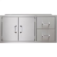 42-In. Pantry Door/Drawer Combo