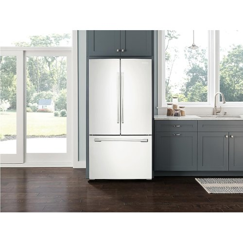 26 cu. ft. French Door Refrigerator with Internal Filtered Water in White