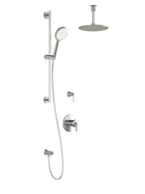 Shower Kit With Type Thermostatic/pressure Balance Valve - Chrome Product Image