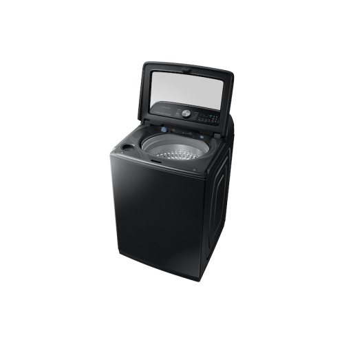 5.4 cu. ft. Top Load Washer with Super Speed in Black Stainless Steel