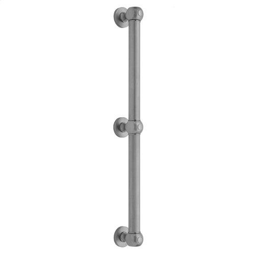 "White - 36"" G71 Straight Grab Bar"