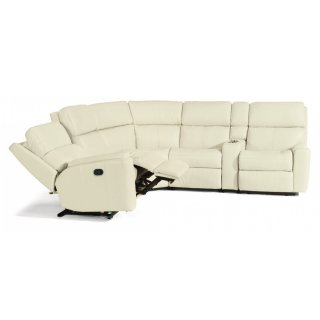 Rio Leather Reclining Sectional