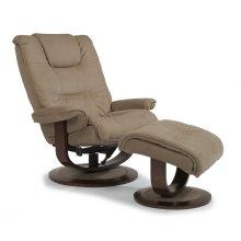 Spencer Fabric Chair & Ottoman