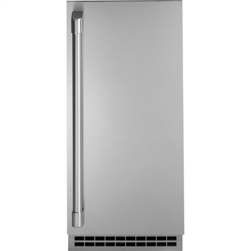 GE Cafe Series Stainless Steel Ice Maker Door Kit (door panel and handle only)