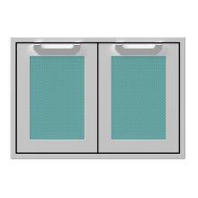 """30"""" Hestan Outdoor Double Access Doors - AGAD Series - Bora-bora"""