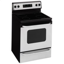 """GE® 30"""" Free-Standing Electric Range (This is a Stock Photo, actual unit (s) appearance may contain cosmetic blemishes. Please call store if you would like actual pictures). This unit carries our 6 month warranty, MANUFACTURER WARRANTY and REBATE NOT VALID with this item. ISI 34556"""