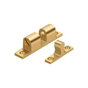 """Ball Tension Catch 2-1/4""""x 1/2"""" - PVD Polished Brass Product Image"""
