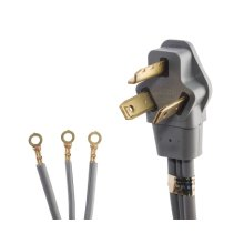 Smart Choice 4' 30-Amp. 3-Prong Dryer Cord