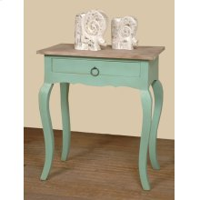 CC-TAB172TLD-BHLW  Cottage Table Bahama/Limewash Finish