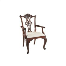 CABRIOLE ARM CHAIR