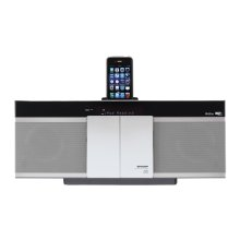 Slim Micro System with Docking Slot and Airplay
