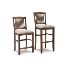 """Glengarry 24"""" Counter Chair With Fabric Seat"""