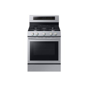 5.8 cu. ft. Freestanding Gas Range with True Convection in Stainless Steel Product Image