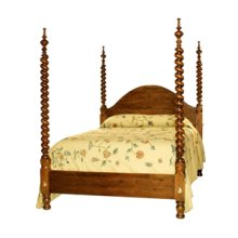 Barley Twist Four Poster Bed