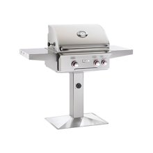 Cooking Surface 432 sq. inches Post Model Grill