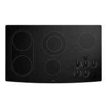 36-inch Electric Ceramic Glass Cooktop with Bridge Element