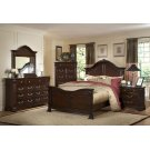 "EMILIE 6'6"" K HEADBOARD- TUDOR BROWN Product Image"
