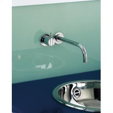 One-handle build-in mixer with ceramic disc technology - Light blue