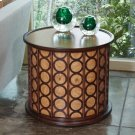 Chains Round Table-Olive Ash Burl Product Image