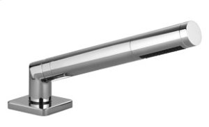 Hand shower set for deck-mounted tub installation - chrome Product Image