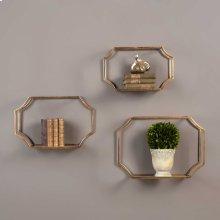 Lindee Wall Shelves, S/3