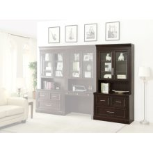 STANFORD Two piece Lateral File and Hutch