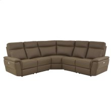 5-Piece Modular Power Reclining Sectional