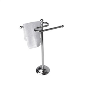 Essentials Traditional Freestanding Double Guest Towel Holder Product Image