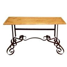 Bent Iron Sofa Table