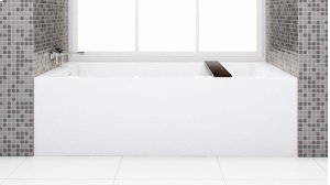 BC 12 tub/shower The Cube Collection Product Image