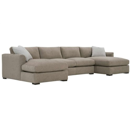 Premium Collection - Derby Double Chaise Sectional