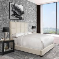 Madison Pearl King Bed 6/6 Product Image