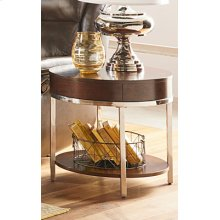 Mira Round End Table