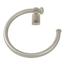 Legacy Bath Towel Ring - Brushed Nickel