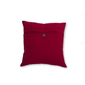 Topsider Red Toss Cushion