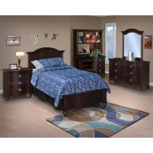 Victoria 3/3 T Lounge Bed - Night Stand