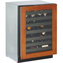 "Overlay Frame Right-hand Modular 3000 Series / 24"" Wine Captain® / Digitally controlled single-zone convection cooling system"
