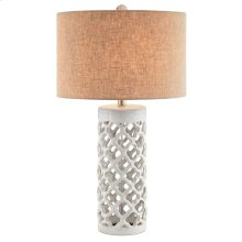 Foiliana Table Lamp In White