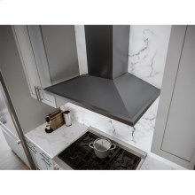 36-In. Anzio Chimney-Style Hood in Black Stainless