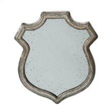 Wide Empire Crest Mirror,Small