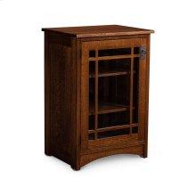 Prairie Mission Media Storage Cabinet
