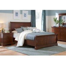 Rhone Manor Sleigh Bed, Queen