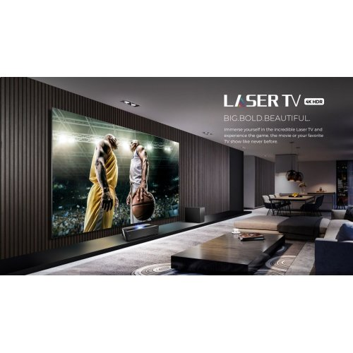 "120"" Class - L10 Series - 4K UHD Hisense Smart Laser TV with HDR and Wide Color Gamut (120"" diag)"