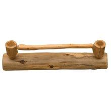 Towel Bar - 24-inch - Natural Cedar