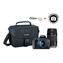 Canon EOS Rebel T7 Double Zoom Lens Kit Double Lens Camera Bundle