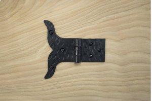 "Black 4"" Furniture Hinge 611507 Product Image"