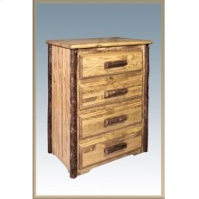 Glacier Country Log 4 Drawer Chest of Drawers