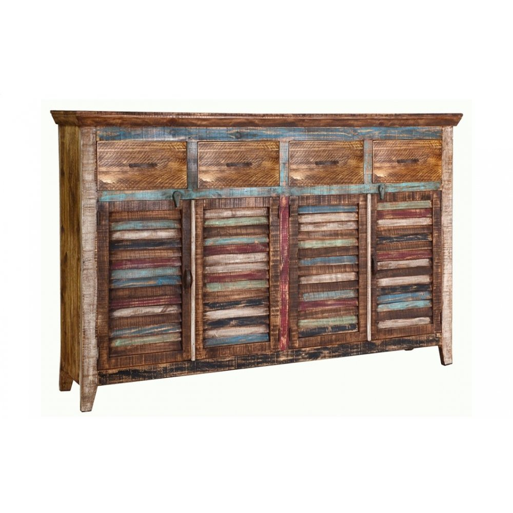Cabana 4 Door 4 Drawer Sideboard