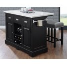 """Aspen Counter Kitchen TableBase 46.75"""" x 19.25"""" x 33.5"""" Product Image"""